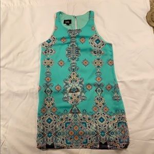 By By Mint Green Sleeveless Dress